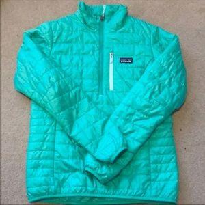 Patagonia Women's Medium 3/4 Zip Nanopuff Jacket